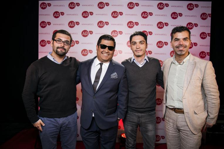 Mauricio Merino, Álvaro Reyes, Jaime Vidal y Cristóbal Arriagada