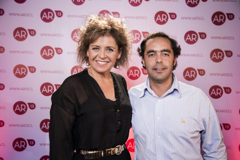 Paula Larenas y José Ignacio Rojas