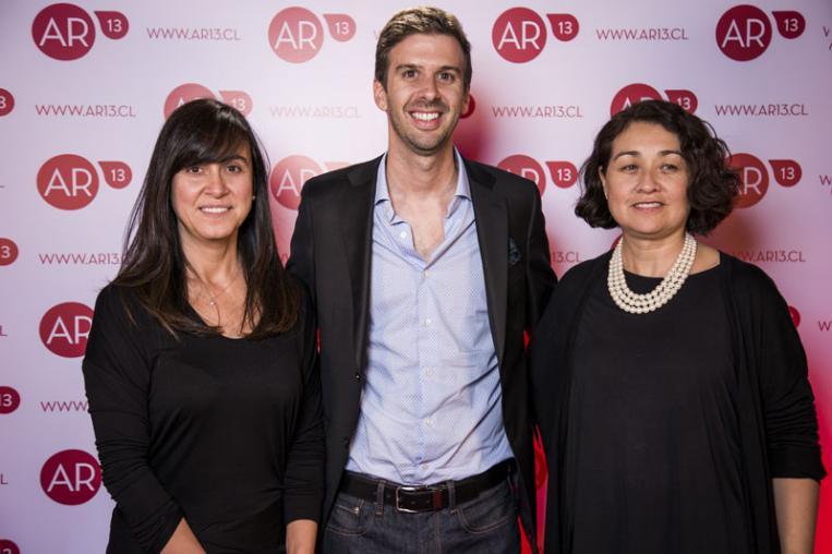 Andrea Baier, Sebastián Sánchez y Marcela Robledo