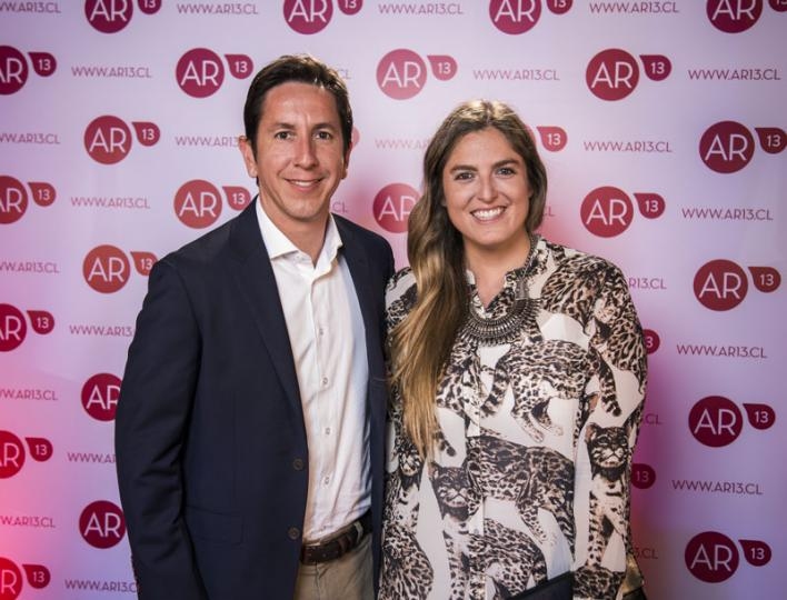 Eduardo Astudillo y Anita Caerols