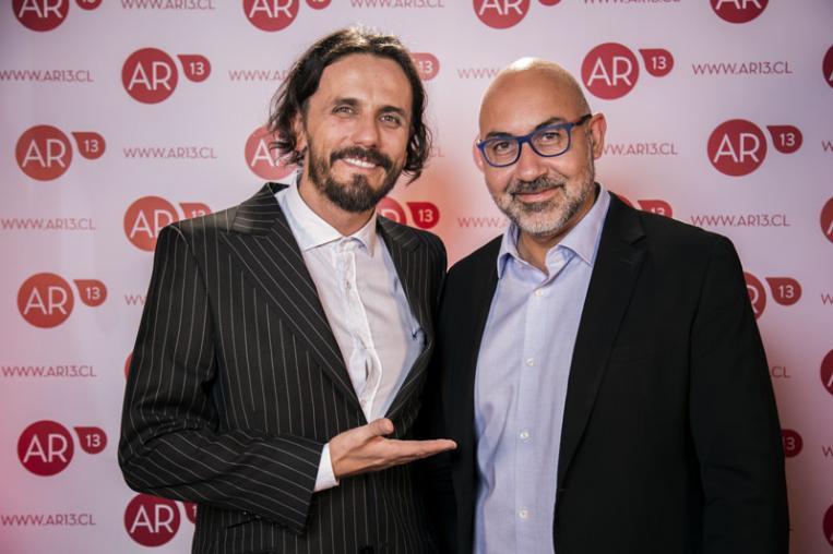 Sergio Lagos y Eduardo Cabezas