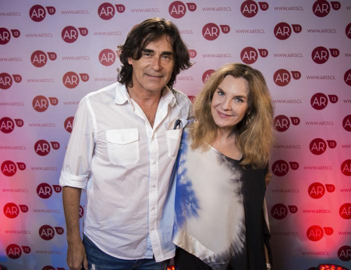Rodrigo Leiva y Alejandra Pérez