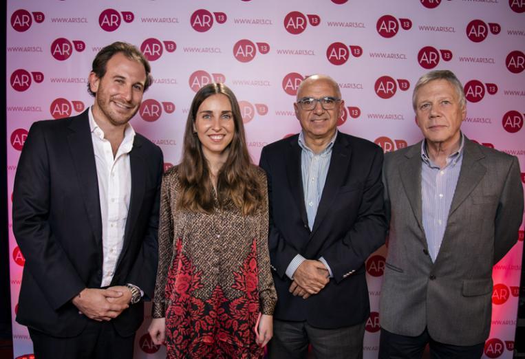 Maximiliano Luksic, María Teresa Valdivieso, Mario Boada y Julio Opazo L.