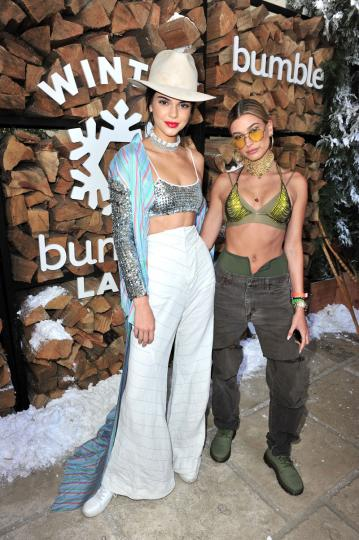 Kendall Jenner y Hailey Baldwin