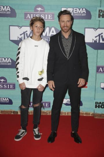 David Guetta y su hijo Tim