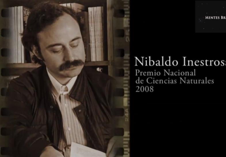 10 Abril 2016: Nibaldo Inestrosa, Premio Nacional de Ciencias Naturales 2008